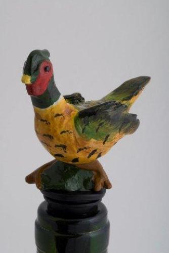 Pheasant Bottle Stopper