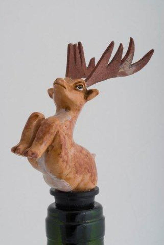 Deer bottle stopper