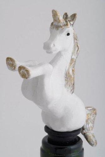 Unicorn bottle stopper