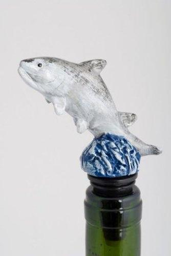 Salmon bottle stopper