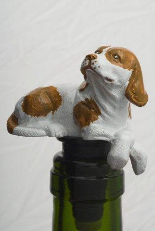 Beagle bottle stopper