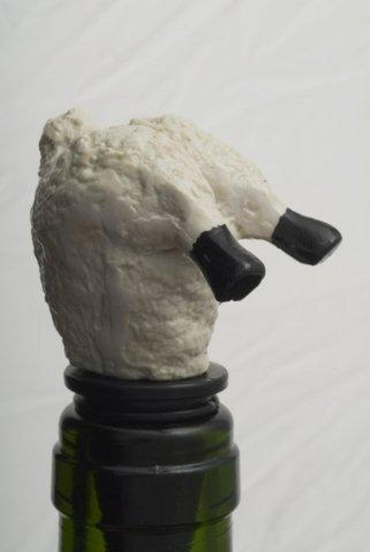 Sheep bottle stopper