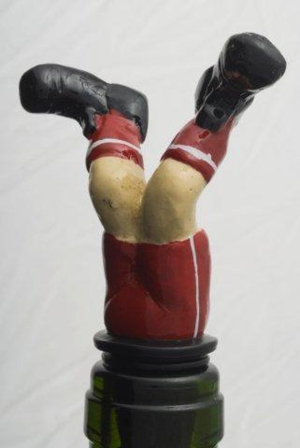Football Boots bottle stopper