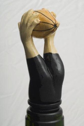 Rugby Hands bottle stopper