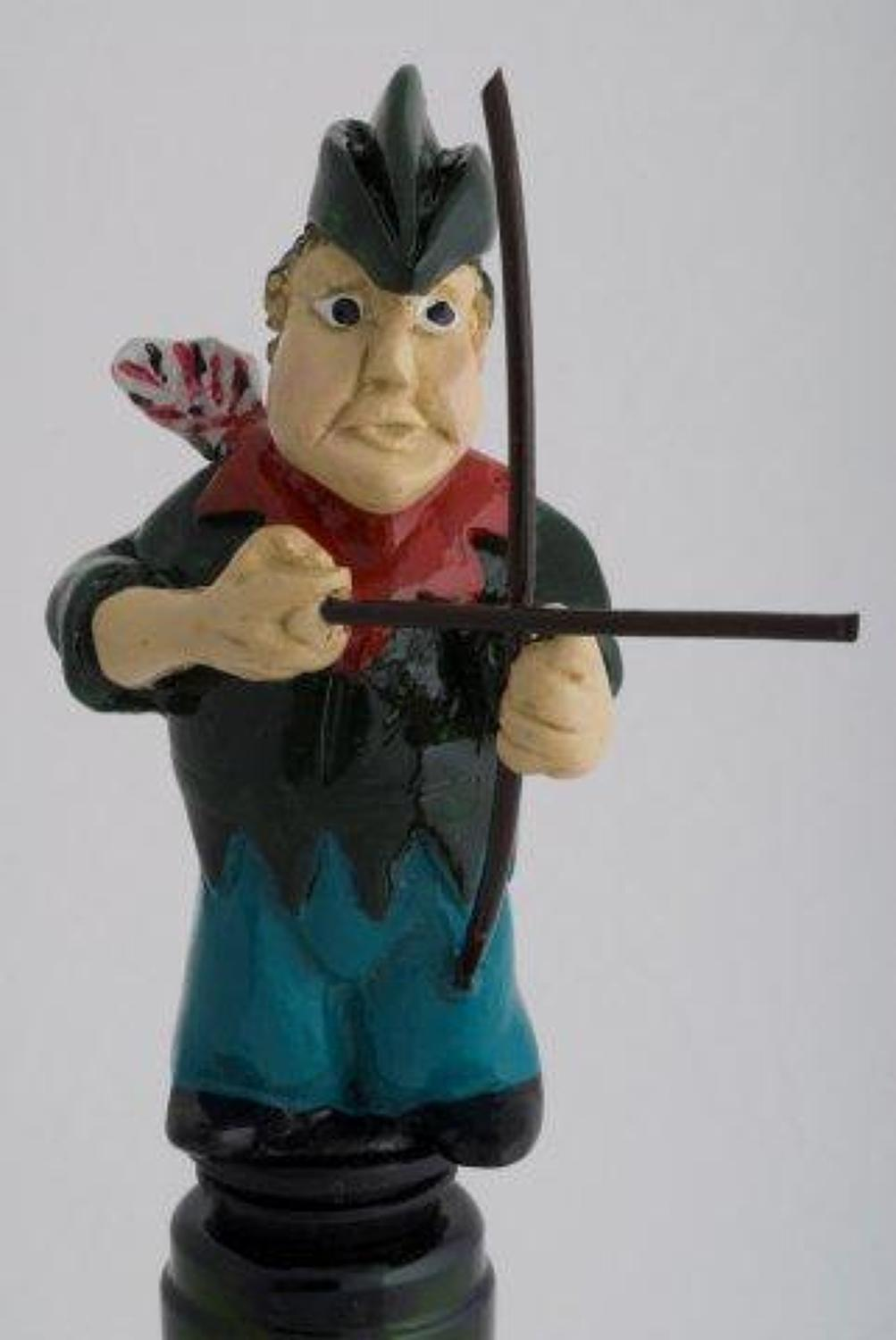 Archer bottle stopper