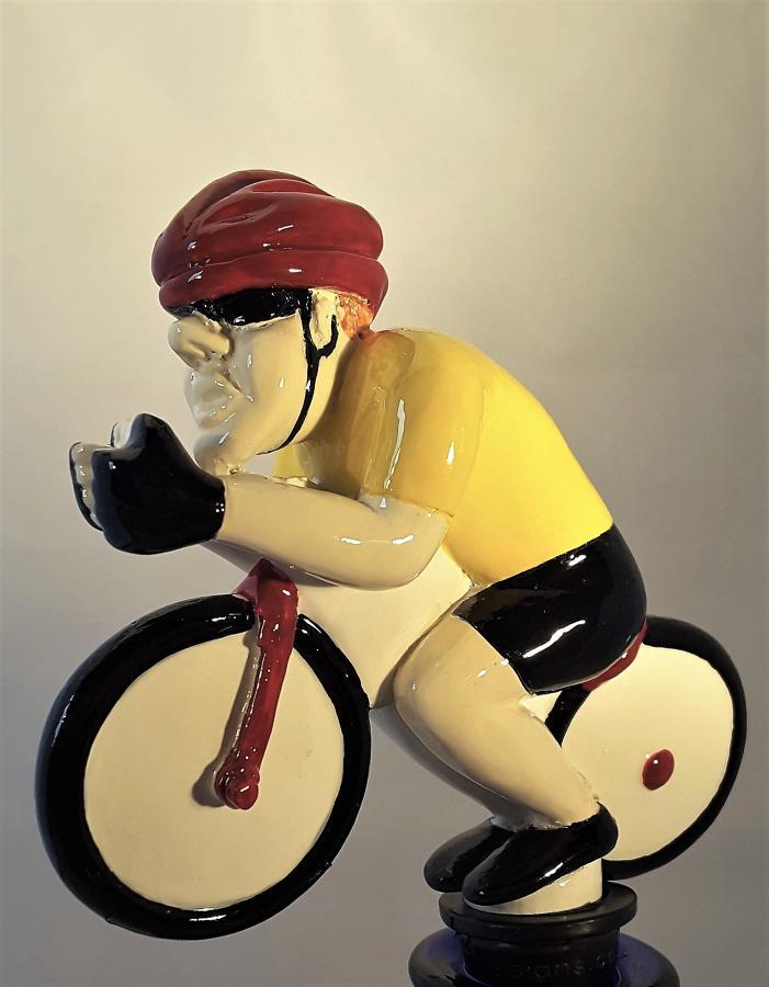 Cyclist bottle stopper