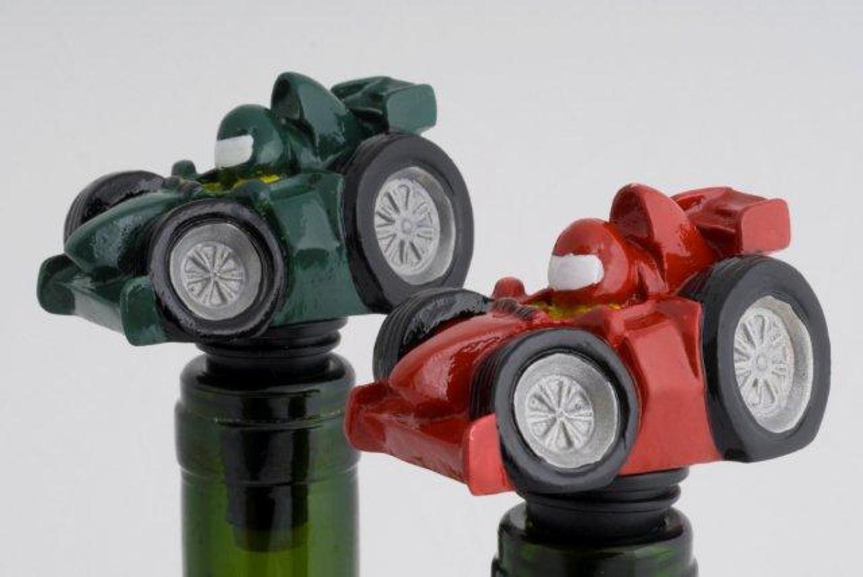 Racing Car bottle stopper
