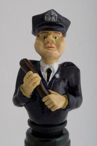 Cop bottle stopper