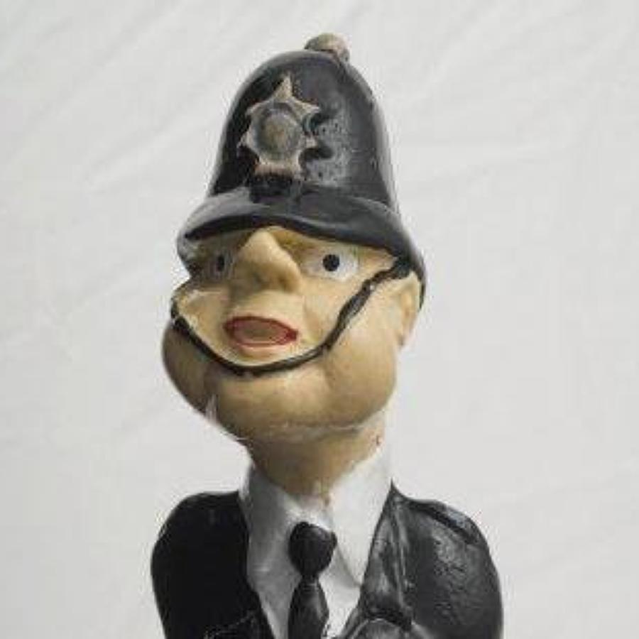 Policeman bottle stopper