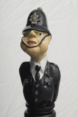 Policeman bottle stopper