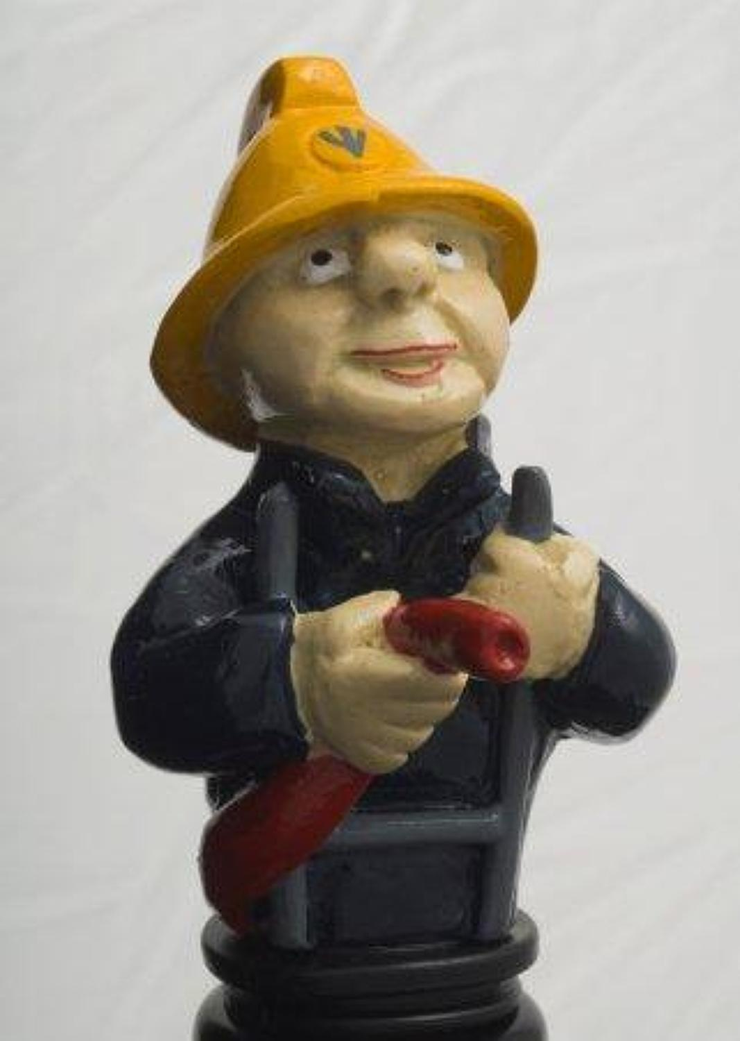Fireman bottle stopper