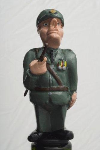 Army officer bottle stopper