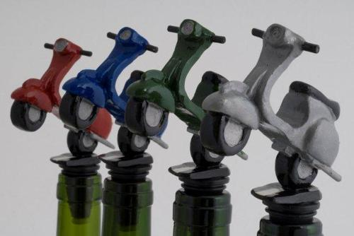 Scooter bottle stopper