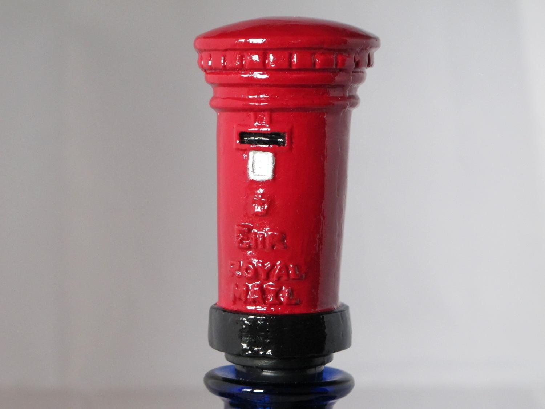 Post Box bottle stopper