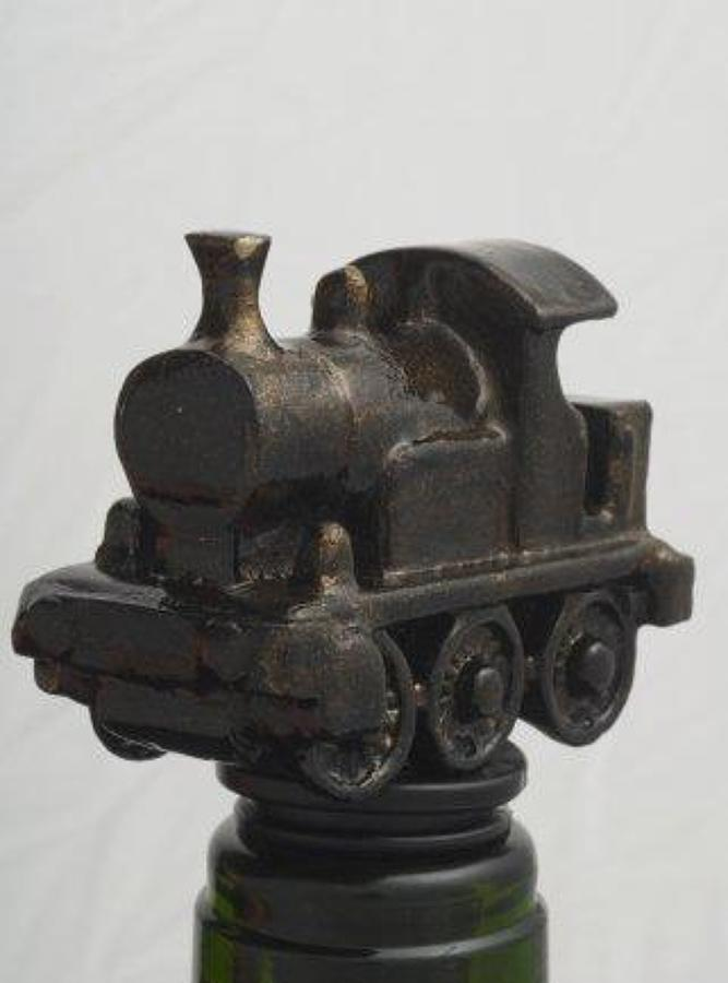 Steam Train bottle stopper
