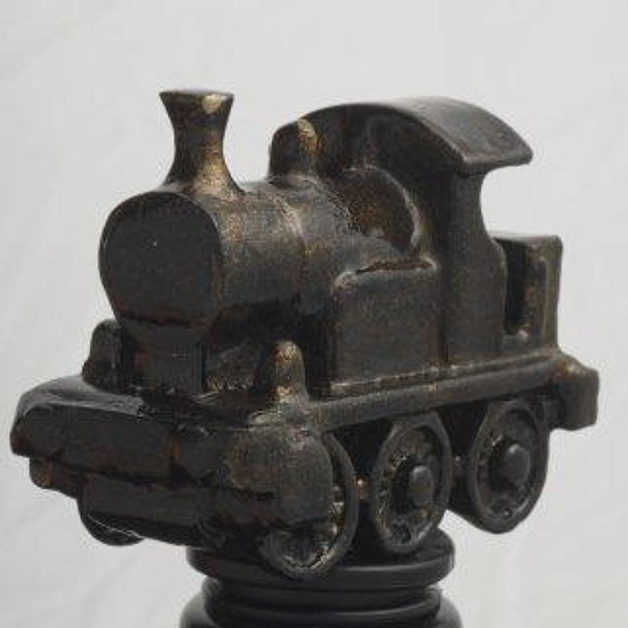 Steam Train bottle stopper
