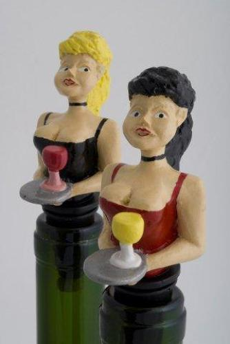 Waitress bottle stopper