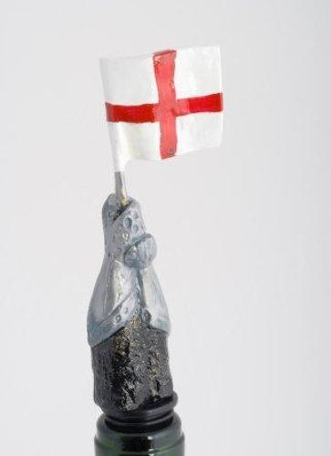 St. George Cross Flag bottle stopper