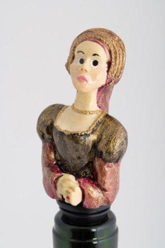 Ann Boleyn bottle stopper