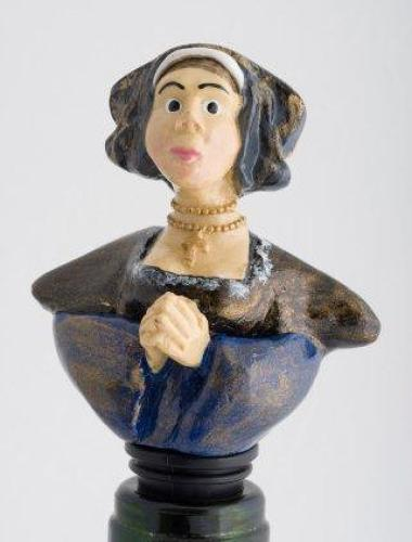 Ann of Cleves bottle stopper