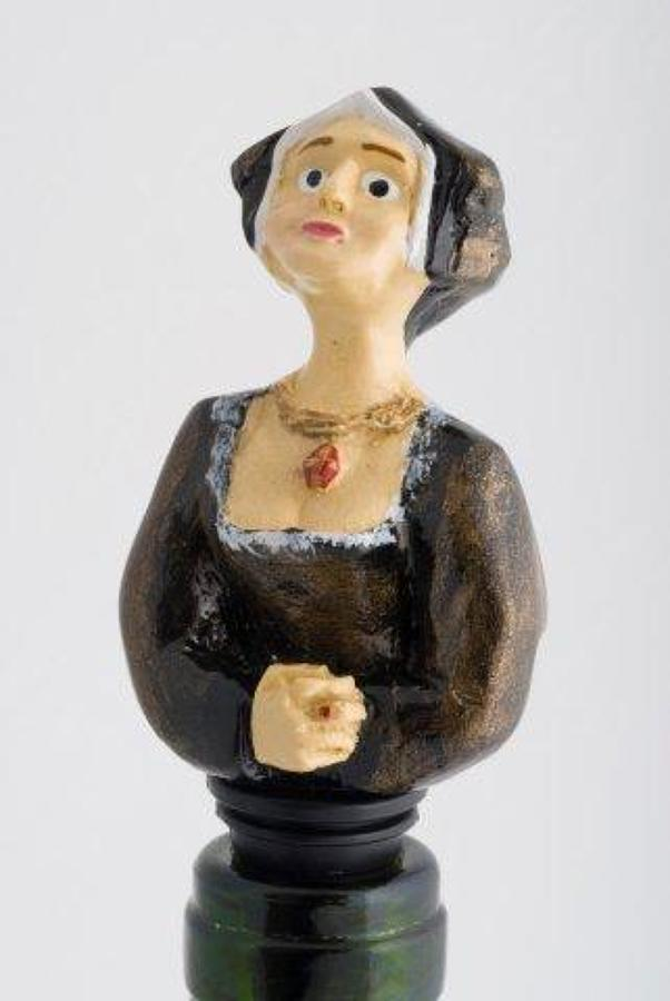 Jane Seymour bottle stopper