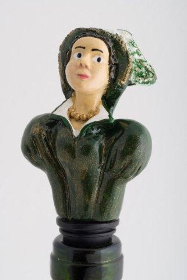 Catherine Parr bottle stopper