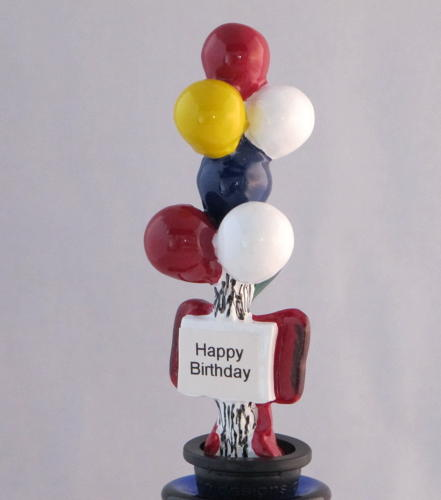 Balloons bottle stopper