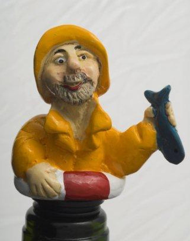 Fisherman bottle stopper