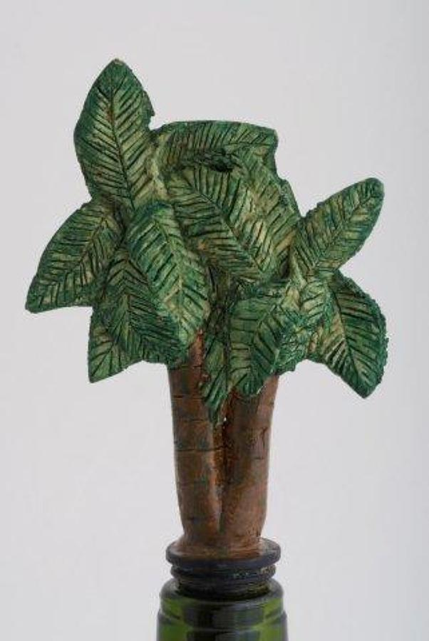 Palm Tree bottle stopper