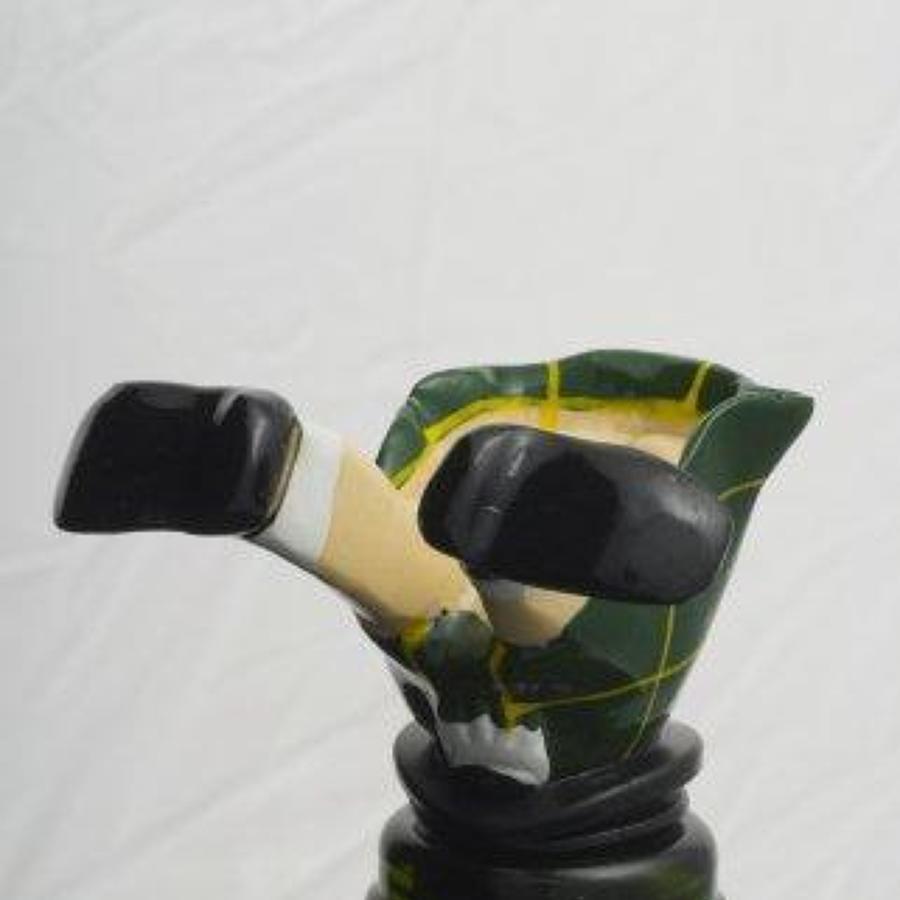 Scotsman bottle stopper