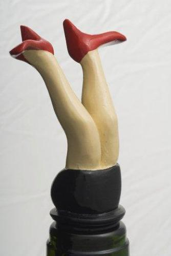 Red Shoes bottle stopper