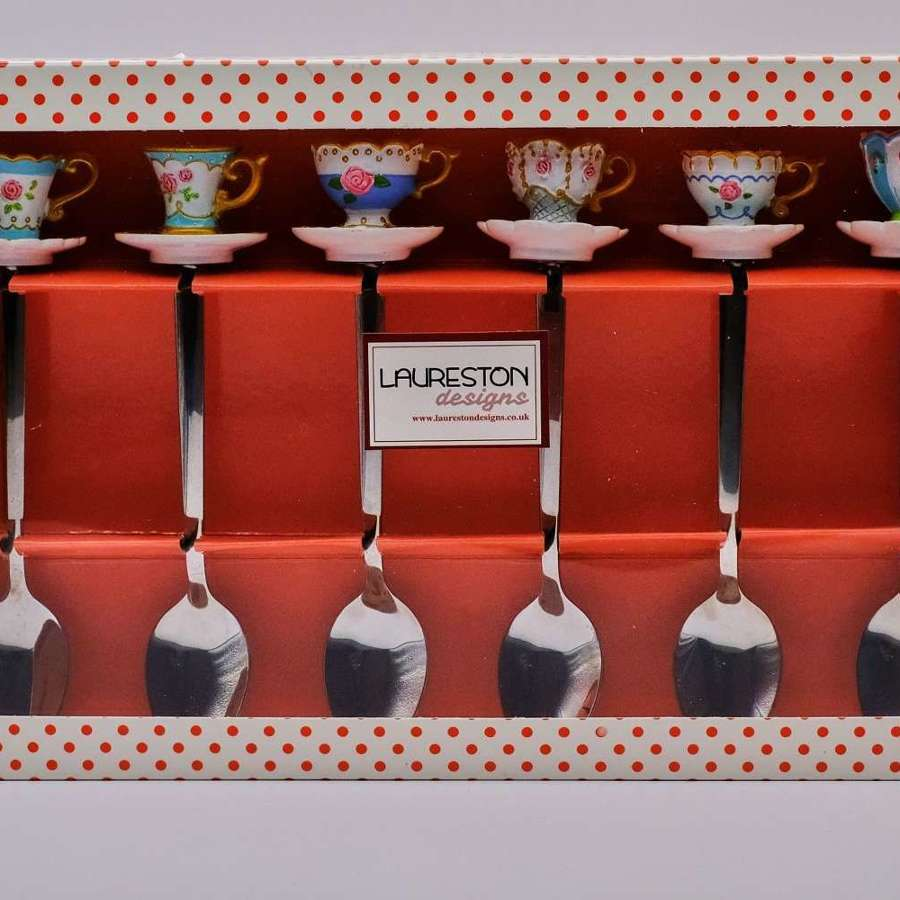 Tea Spoons - Set of 6