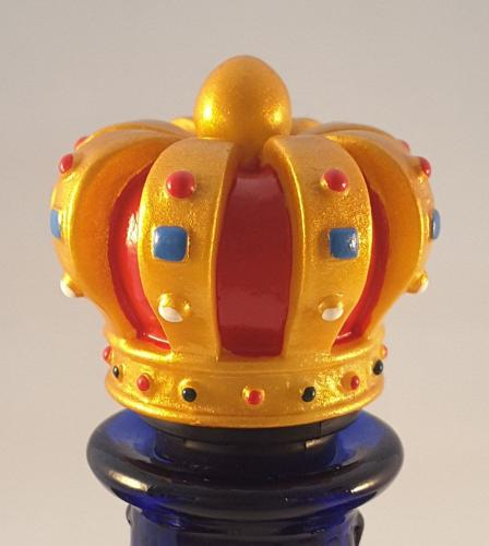 Crown bottle stopper